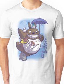 Totoro in Flight Unisex T-Shirt