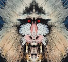 BEAST#1 Mandrill by gogeas