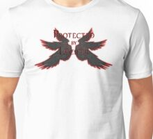 Protected by Lucifer Dark Unisex T-Shirt