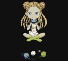 Knitting Meditation One Piece - Short Sleeve
