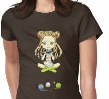 Knitting Meditation Womens Fitted T-Shirt