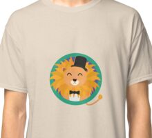 Lion groom with cylinder Classic T-Shirt