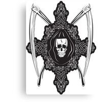 Death Skull Canvas Print