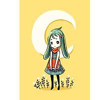 Bunny Girl Photographic Print