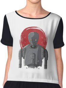 One Droid Chiffon Top