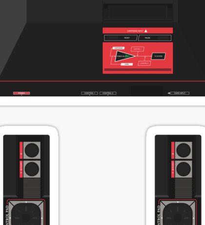 Master System (white) Sticker