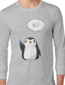 Hi Penguin Long Sleeve T-Shirt