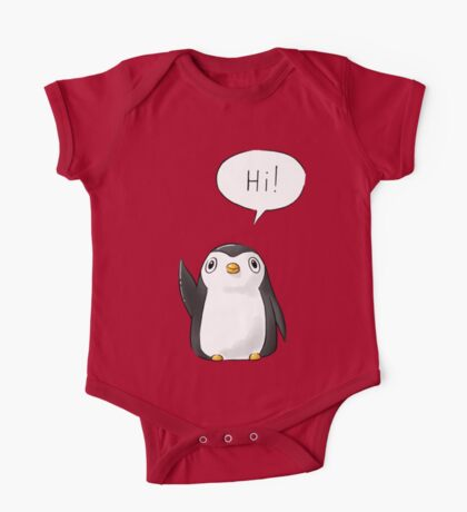 Hi Penguin One Piece - Short Sleeve