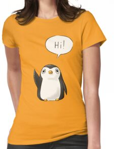 Hi Penguin Womens Fitted T-Shirt