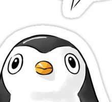 Hi Penguin Sticker