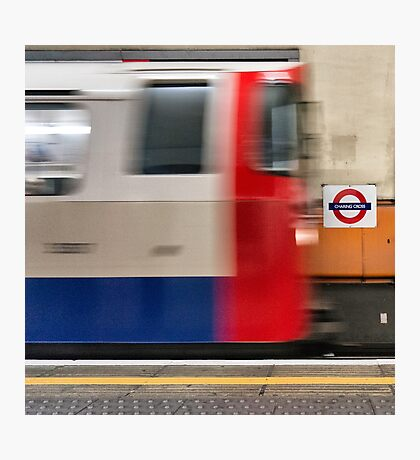 Charing Cross, London Underground Photographic Print