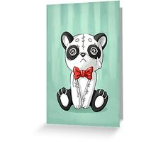 Panda Doll Greeting Card