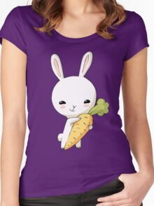 Bunny Carrot 2 Women's Fitted Scoop T-Shirt