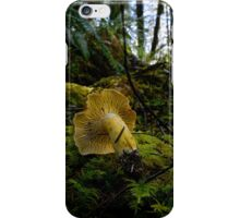 Yellow Chanterelle Mushroom iPhone Case/Skin