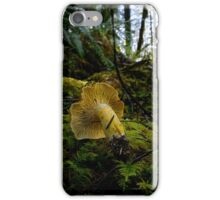 Yellow Chanterelle Mushroom iPhone Case/Skin
