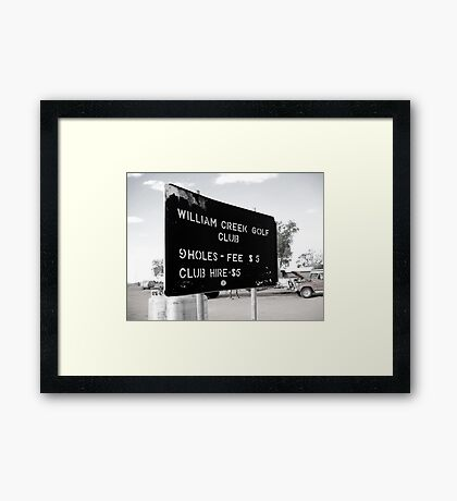 Little bit ironic Framed Print