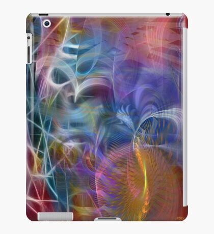 Mystery Of Light - By John Robert Beck iPad Case/Skin