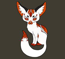 Mysterious Fox Womens Fitted T-Shirt