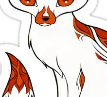 Mysterious Fox Sticker