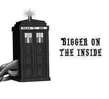 Bigger on the inside by SanFernandez