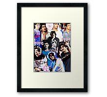 Zayn Malik Collage Framed Print