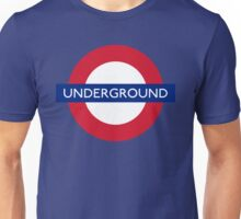 England - London Underground Way Train Unisex T-Shirt