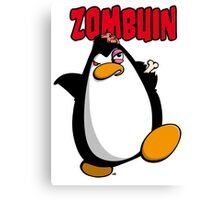 Zombuin - The Zombie Penguin Canvas Print