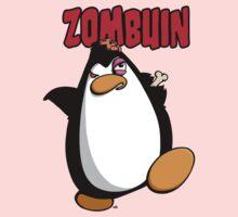 Zombuin - The Zombie Penguin Kids Tee