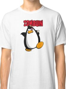 Zombuin - The Zombie Penguin Classic T-Shirt