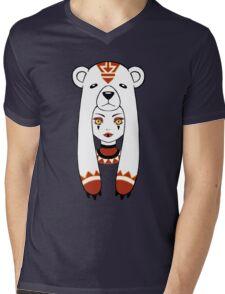 Polar Tribe Mens V-Neck T-Shirt