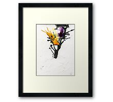 Trees abstract Framed Print