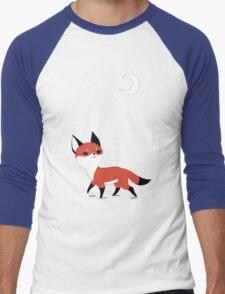 Moon Fox Men's Baseball ¾ T-Shirt