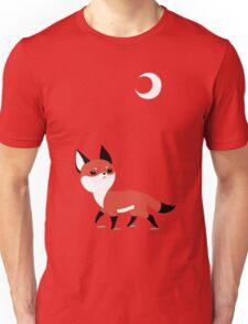 Moon Fox Unisex T-Shirt