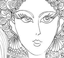 Melusina – French #Mermaid Sticker
