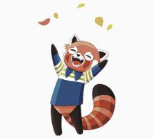 Red Panda 2 One Piece - Short Sleeve