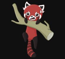 Red Panda One Piece - Short Sleeve