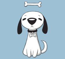 Puppy Bone One Piece - Short Sleeve