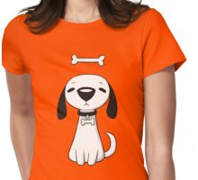 Puppy Bone Womens Fitted T-Shirt