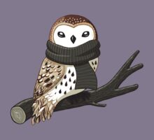 Winter Owl Kids Tee