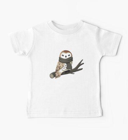 Winter Owl Baby Tee