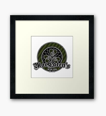 Maclaren's pub - How I met your mother Framed Print
