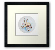 Watercolor Octopus Framed Print