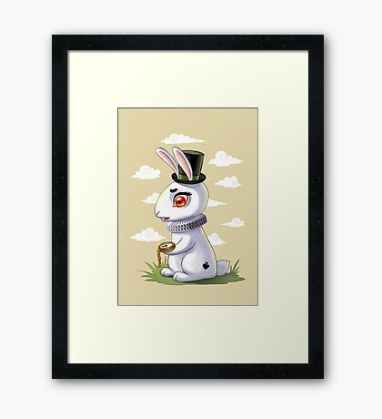 Late Framed Print