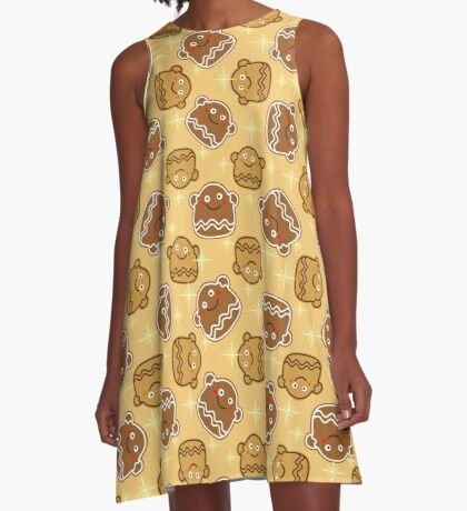 Gingerbread 2 A-Line Dress