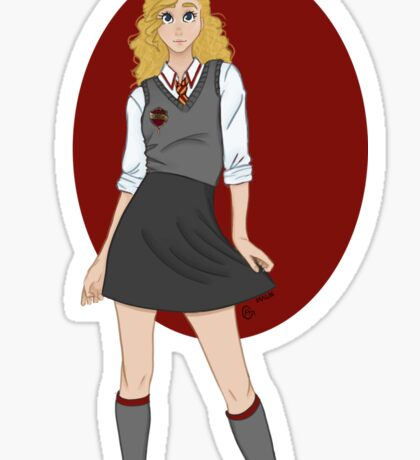 Gryffindor Girl Sticker