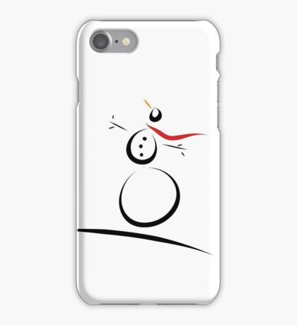 Snowman Joy iPhone Case/Skin