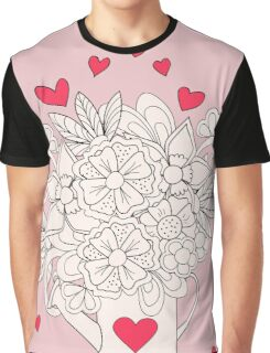 bouquet with love Graphic T-Shirt