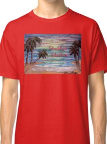 Tropical Shabbat Classic T-Shirt