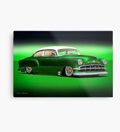 1954 Chevrolet Rad Custom Bel Air Metal Print