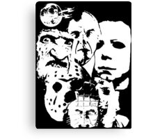 Horror Icons! Canvas Print